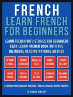French - Learn French for Beginners - Learn French With Stories for Beginners (Vol 1): Easy Learn French Book with 12 stories, to learn French with the Bilingual Reading natural method