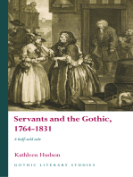 Servants and the Gothic, 1764-1831