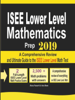 ISEE Lower Level Mathematics Prep 2019