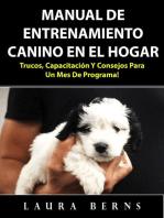 Manual de entrenamiento canino en el hogar