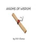 Axioms of Wisdom