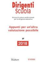 Dirigenti Scuola 37/2018