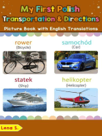 My First Polish Transportation & Directions Picture Book with English Translations: Teach & Learn Basic Polish words for Children, #14