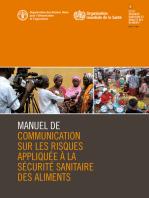 Manuel de communication sur les risques appliquée à la sécurité sanitaire des aliments