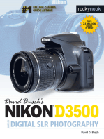 David Busch's Nikon D3500 Guide to Digital SLR Photography