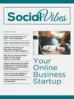 SocialVibes - Your Online Business Startup