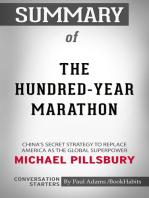 Summary of The Hundred-Year Marathon