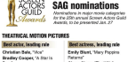 2019 Screen Actors Guild Award nominations