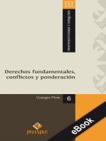 Derechos fundamentales, conflictos y ponderación