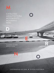 Catálogo Arquitectura Movimiento Moderno Perú