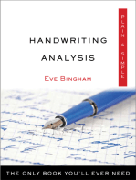 Handwriting Analysis Plain & Simple: The Only Book You'll Ever Need