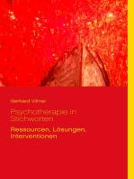 Psychotherapie in Stichworten