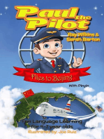 Paul the Pilot Flies to Beijing Fun Language Learning for 4-7 Year Olds (With Pinyin)