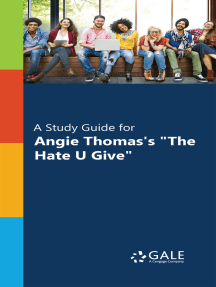 """""""A Study Guide for Angie Thomas's """"""""The Hate U Give"""""""""""""""