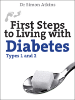 First Steps to living with Diabetes (Types 1 and 2)