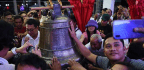 Philippines Duterte Praises 'Generous' Americans For Returning Church Bells