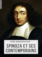 Spinoza et ses contemporains