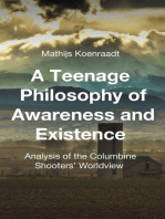 A Teenage Philosophy of Awareness and Existence