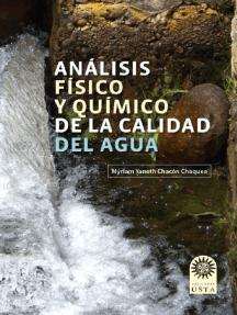 Análisis físico y químico de la calidad del agua