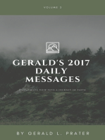 Gerald's 2017 Daily Messages