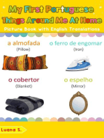 My First Portuguese Things Around Me at Home Picture Book with English Translations