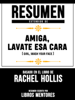 Amiga, Lávate Esa Cara (Girl, Wash Your Face) – Resumen Del Libro De Rachel Hollis