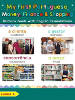 My First Portuguese Money, Finance & Shopping Picture Book with English Translations