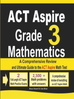 ACT Aspire Grade 3 Mathematics