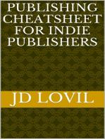 Publishing Cheatsheet for Indie Authors