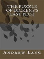 The Puzzel Of Dickenss Lost Plot