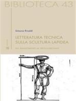 Letteratura tecnica sulla scultura lapidea