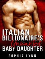Italian Billionaire's Unwanted Baby Daughter