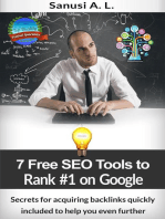 7 Free SEO Tools to Rank #1 on Google