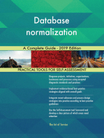 Database normalization A Complete Guide - 2019 Edition