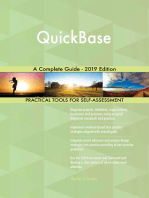 QuickBase A Complete Guide - 2019 Edition