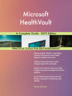 Microsoft HealthVault A Complete Guide - 2019 Edition