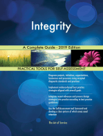 Integrity A Complete Guide - 2019 Edition