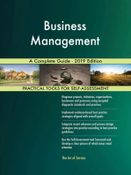 Business Management A Complete Guide - 2019 Edition