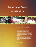 Identity and Access Management A Complete Guide - 2019 Edition
