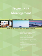 Project Risk Management A Complete Guide - 2019 Edition