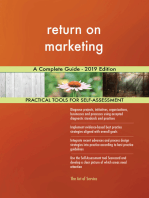 return on marketing A Complete Guide - 2019 Edition