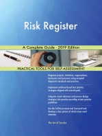 Risk Register A Complete Guide - 2019 Edition
