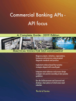 Commercial Banking APIs - API focus A Complete Guide - 2019 Edition