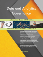 Data and Analytics Governance A Complete Guide - 2019 Edition