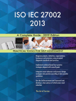 ISO IEC 27002 2013 A Complete Guide - 2019 Edition