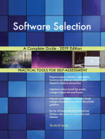 Software Selection A Complete Guide - 2019 Edition