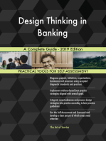 Design Thinking in Banking A Complete Guide - 2019 Edition