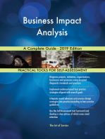 Business Impact Analysis A Complete Guide - 2019 Edition
