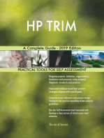 HP TRIM A Complete Guide - 2019 Edition