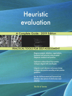 Heuristic evaluation A Complete Guide - 2019 Edition